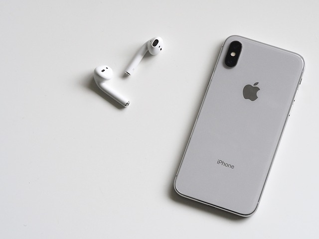 iPhone 11 and Airpods